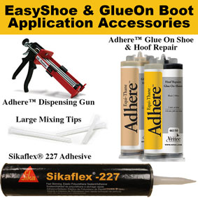 EasyShoe and GlueOn Boot Application Accessories